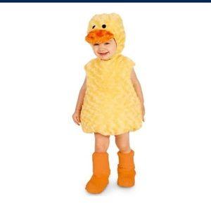 Baby duckling costume 12-18m